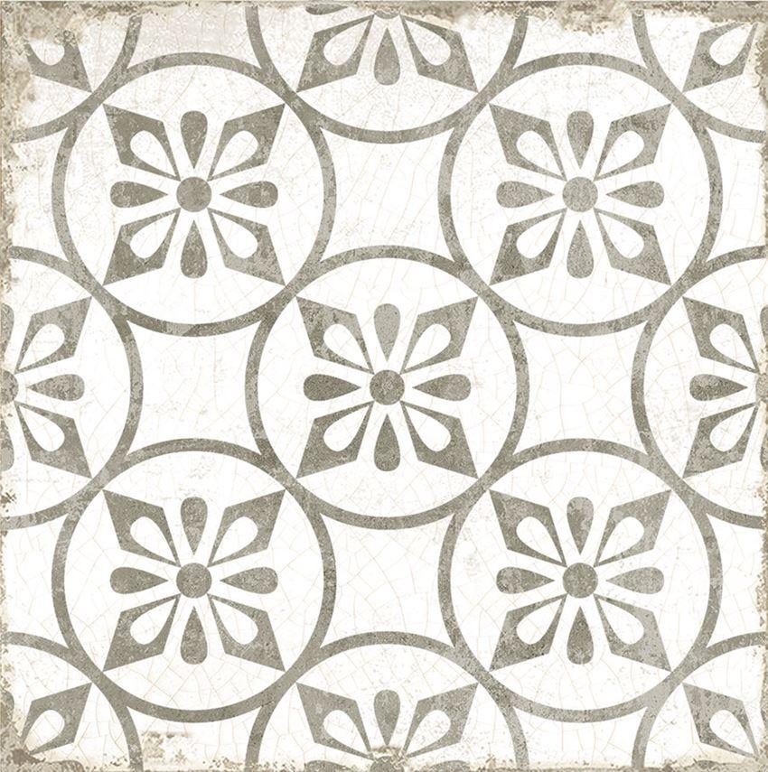 Płytka dekoracyjna 20x20 cm Azario Grafton Capel Taupe