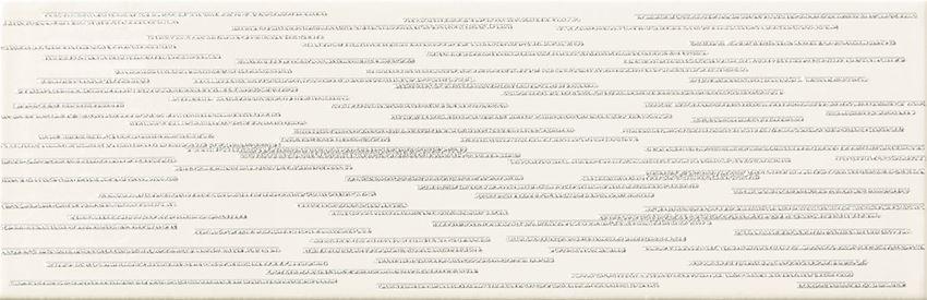 Dekor ścienny 23,7x7,8 cm Domino Burano bar white D