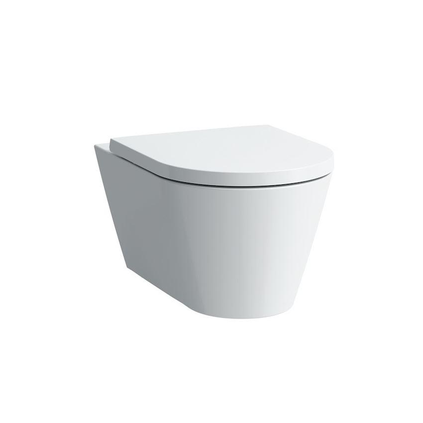 Miska WC podwieszana rimless lejowa bezkołnierzowa bez deski Laufen Kartell