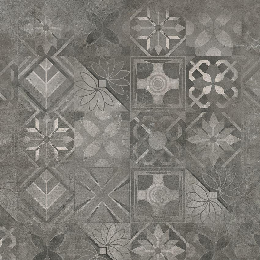 Płytka dekoracyjna Cerrad Softcement graphite patchwork
