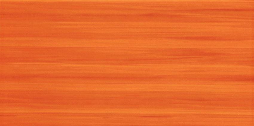 Płytka ścienna 44,8x22,3 cm Tubądzin Wave orange