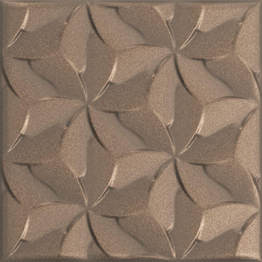 Płytka dekoracyjna 15x15 cm Azario Domi Bronze Gamma Vintage