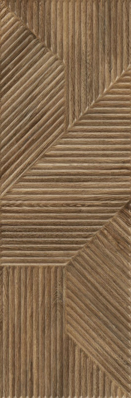 Płytka ścienna 29,8x89,8 cm Paradyż Woodskin Brown Ściana A Struktura Rekt.