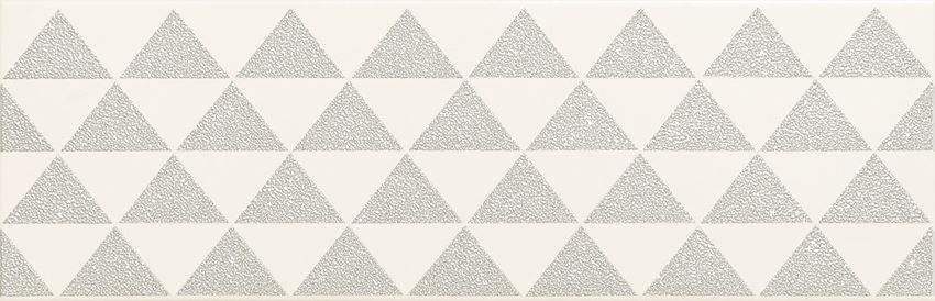 Dekor ścienny 23,7x7,8 cm Domino Burano bar white B