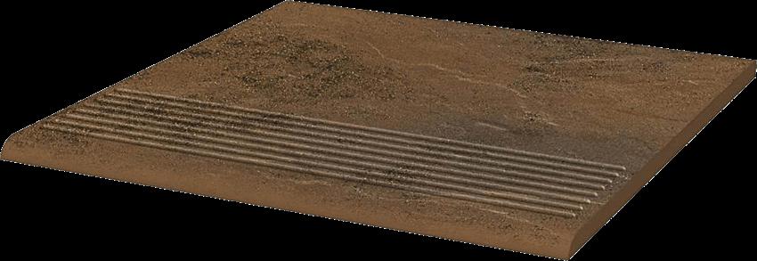 Płytka stopnicowa 30x30 cm Paradyż Semir Beige Stopnica Prosta