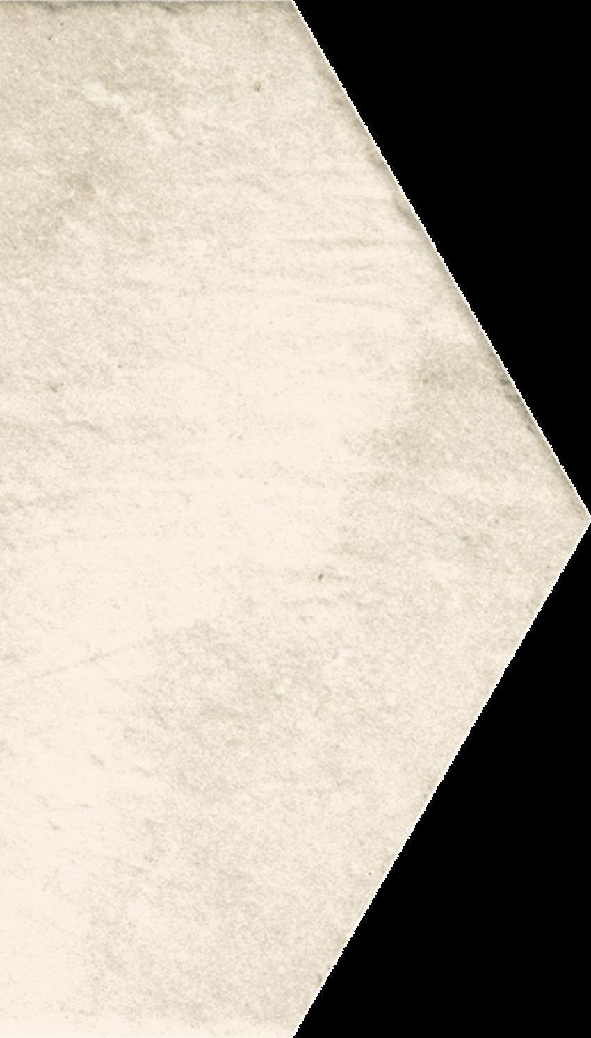Dekoracja podłogowa 14,8x26 cm Paradyż Scandiano Beige Połowa
