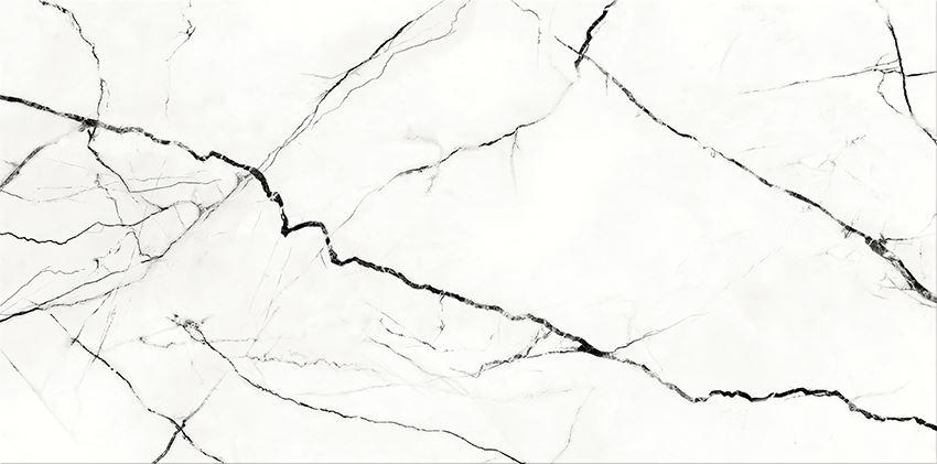 Płytka ścienna 29,7x60 cm Cersanit Arce White Glossy