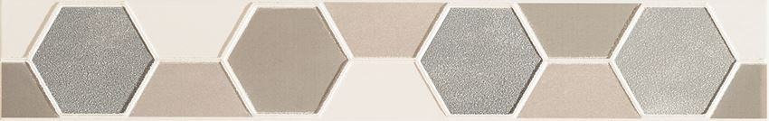 Listwa ścienna 44,8x7,1 cm Domino Tango hex