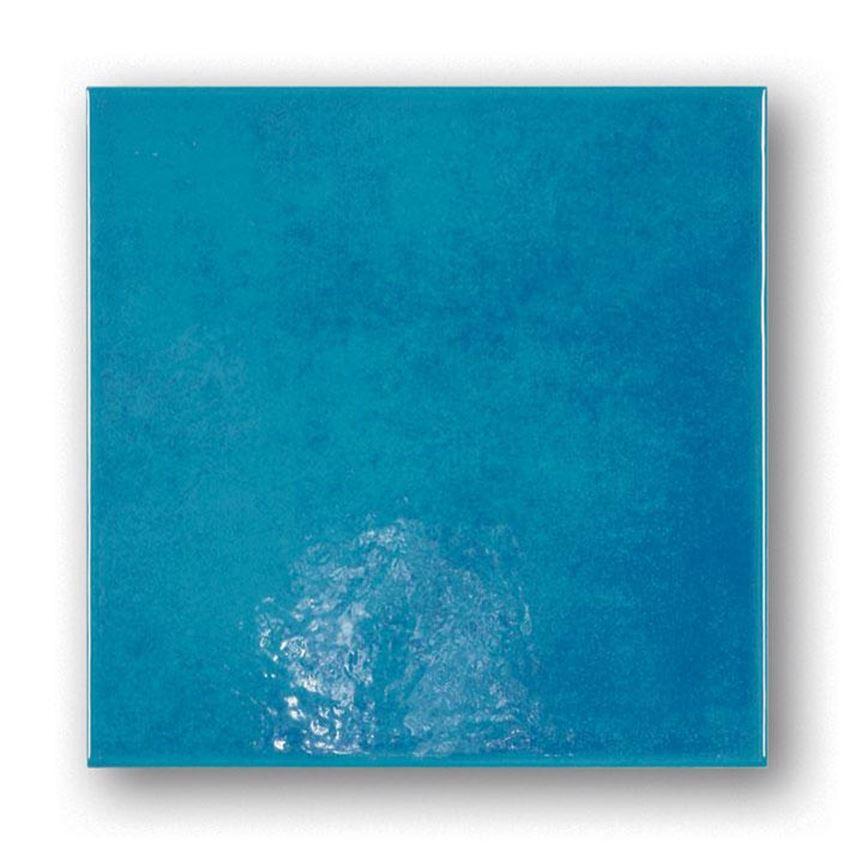 Płytka ścienna niebieska 20x20 Tubądzin Majolika