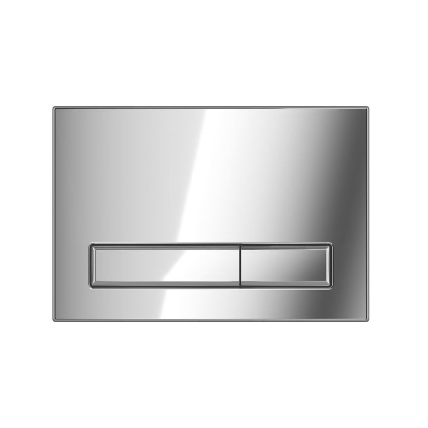 Przycisk spłukujący do WC chrom Excellent Gravio