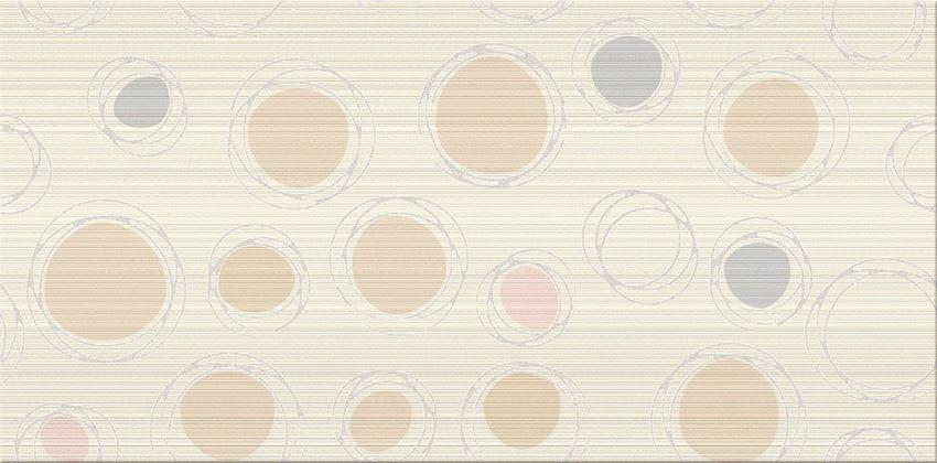 Płytka dekoracyjna 29,7x60 cm Cersanit Hortis beige inserto geo