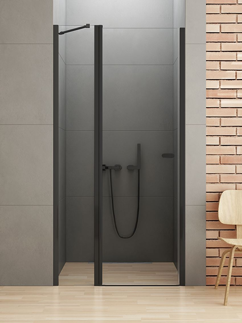 Drzwi 2-częściowe New Trendy New Soleo Black