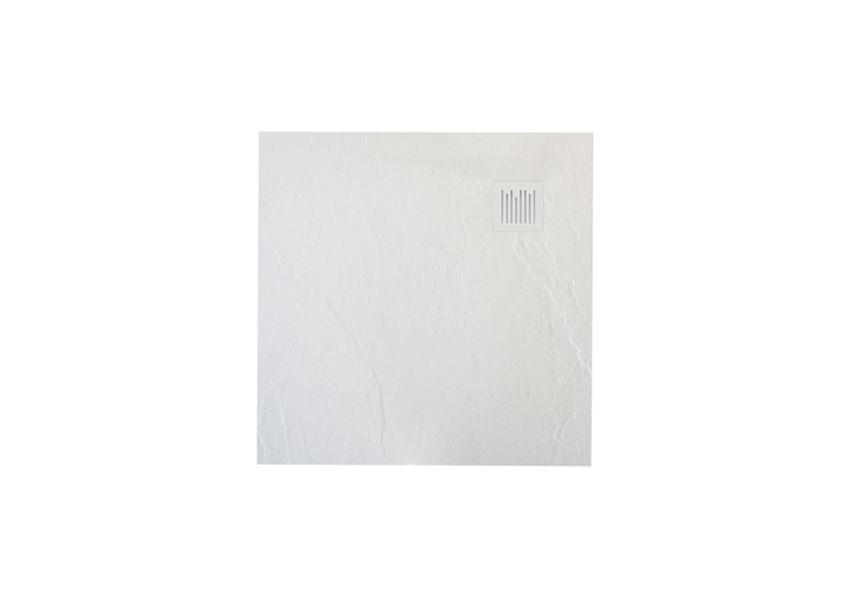 Brodzik kompozytowy biały 90x90x2,6 cm Roca Ignis
