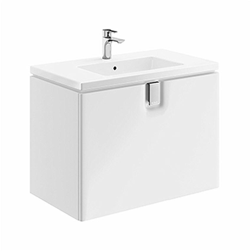 Szafka pod umywalkę 80x57x46 cm biała Koło Twins