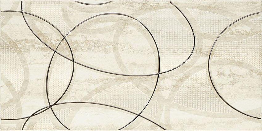 Dekoracja ścienna 30x60 cm Paradyż Amiche Beige inserto C