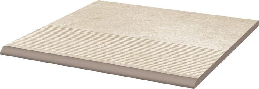 Płytka podłogowa 30x30 cm Paradyż Cotto Crema Stopnica Prosta