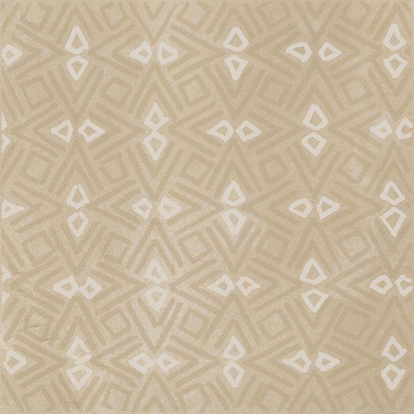 Płytka dekoracyjna 29,8x29,8 cm Paradyż Tigua Beige Inserto B Mat