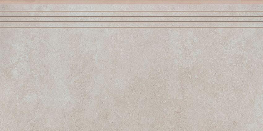 Płytka stopnicowa 29,7x59,7 cm Cerrad Tassero beige