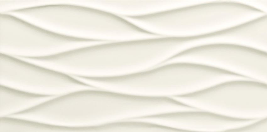 Płytka ścienna 59,8x29,8 cm Tubądzin All in white 3 STR