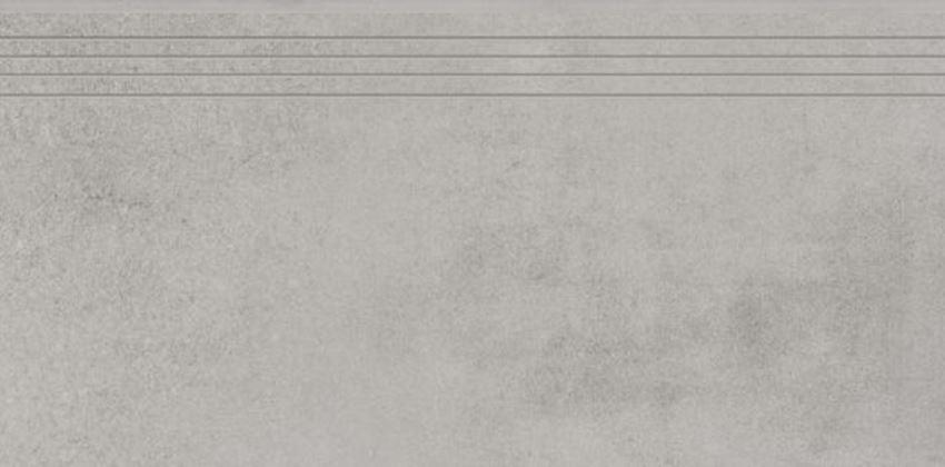 Płytka stopnicowa 39,7x79,7 cm Cerrad Concrete grey