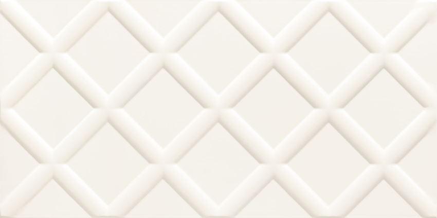 Płytka ścienna 60,8x30,8 cm Domino Burano white STR