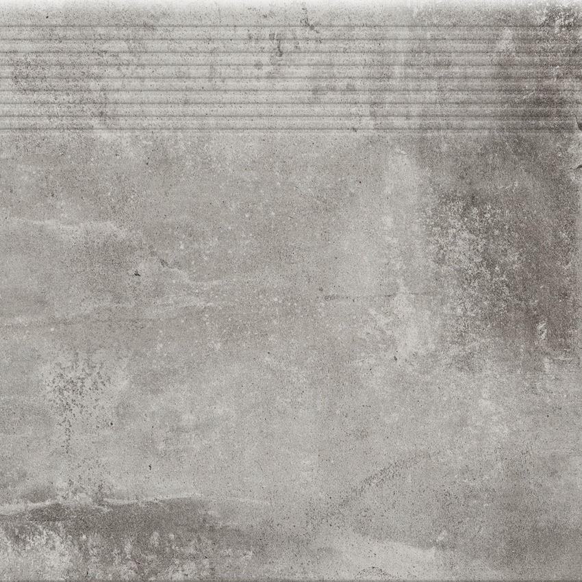 Płytka stopnicowa 30x30 cm Cerrad Stopnica Piatto gris