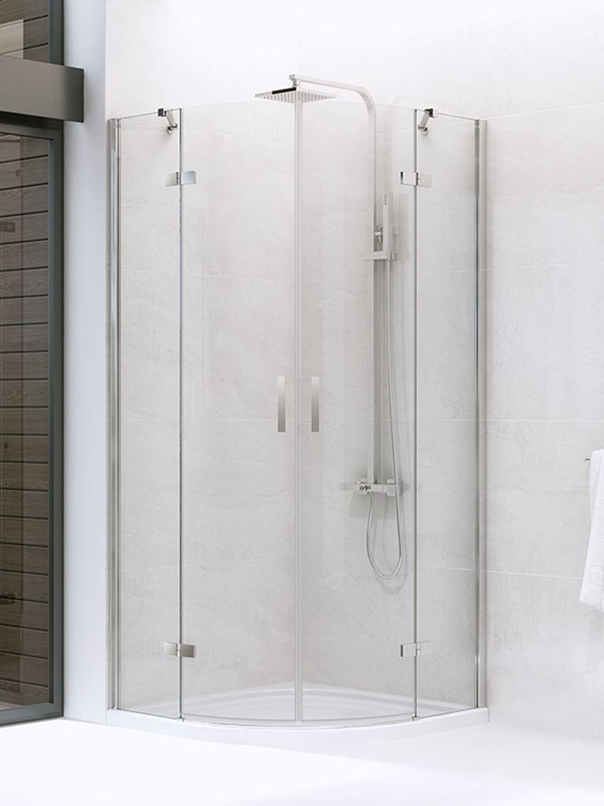 Kabina prysznicowa z podwójnymi drzwiami New Trendy New Merana