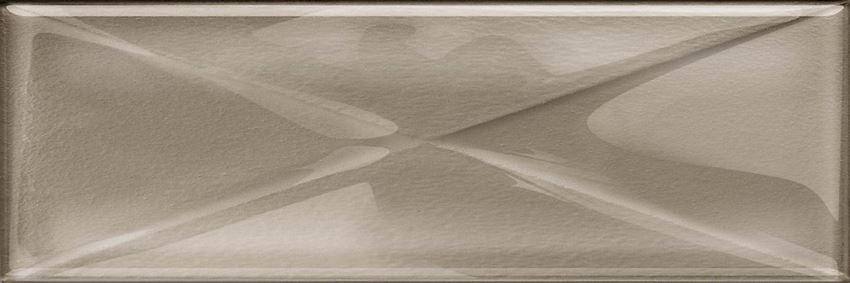 Dekoracja szklana Opoczno Glass Dark Beige Inserto New OD660-107