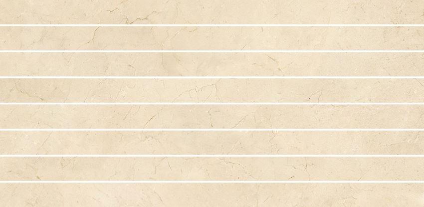 Płytka ścienna 29x59,3 cm Opoczno Light Marble Beige Mosaic Belt