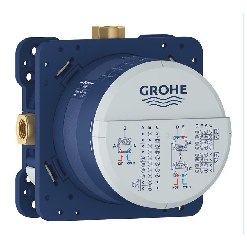 Uniwersalny element podtynkowy 1/2″ Grohe Rapido Smartbox