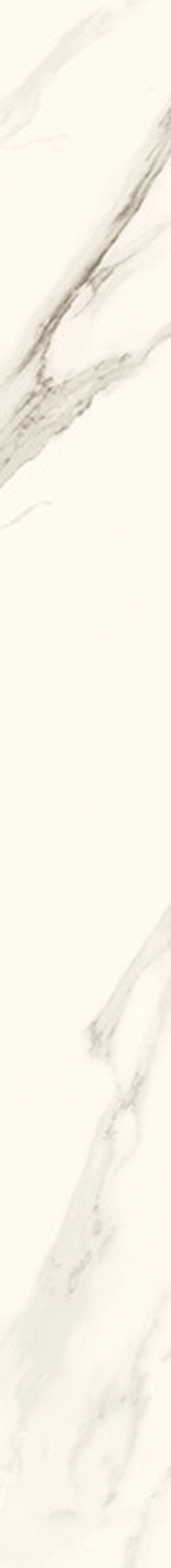 Element wykończeniowy 9,8x89,8 cm Paradyż Calacatta Cokół Poler