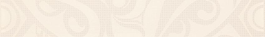 Listwa 5x35 cm Cersanit Optica white border circles
