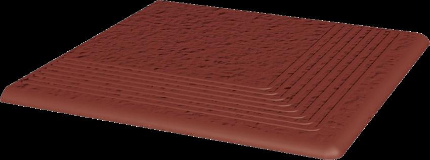 Płytka stopnicowa 30x30 cm Paradyż Natural Rosa Stopnica Narożna Duro