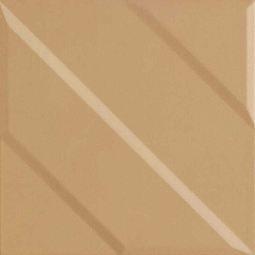 Dekoracja ścienna 19,8x19,8 cm Paradyż Urban Colours Gold Inserto Struktura B