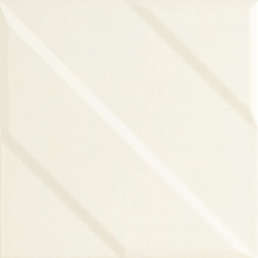 Dekoracja ścienna 19,8x19,8 cm Paradyż Urban Colours Perla Inserto Struktura B