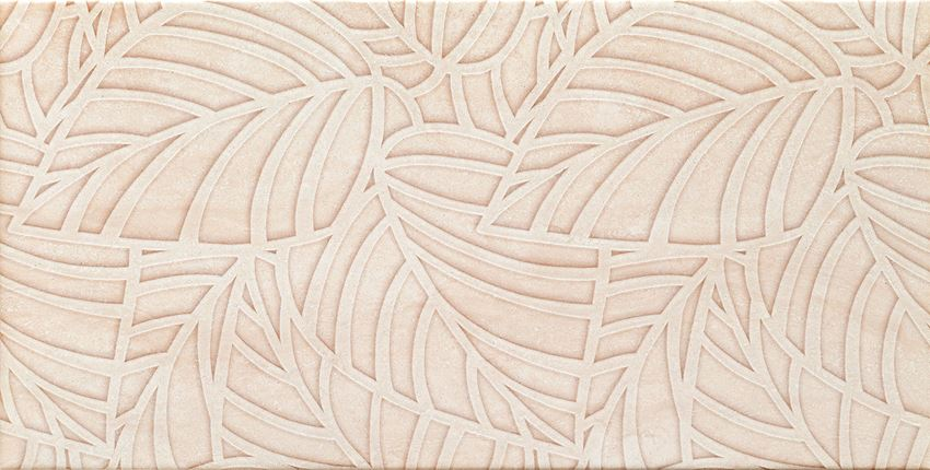 Dekor ścienny 60,8x30,8 cm Domino Blink beige