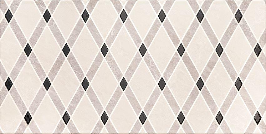 Dekor ścienny 60,8x30,8 cm Domino Jant white