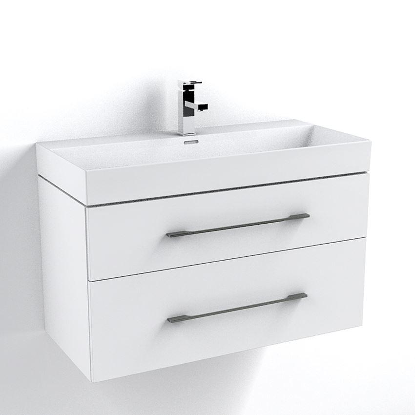 Szafka podumywalkowa pod umywalkę Garda biała 100 cm IÖ Armadio