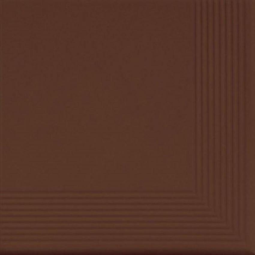 Płytka stopnicowa 30x30 cm Cerrad Burgund