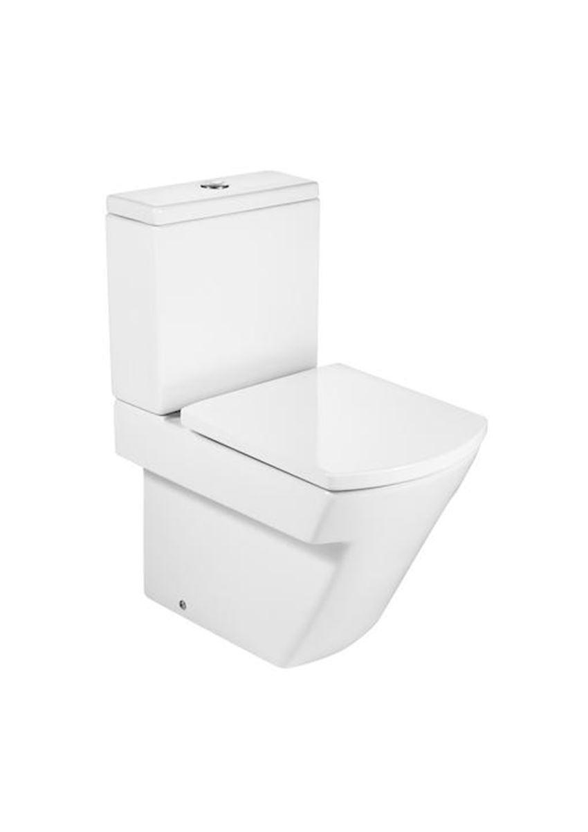 Miska WC do kompaktu WC Compacto 36,5x59,5 cm Roca Hall