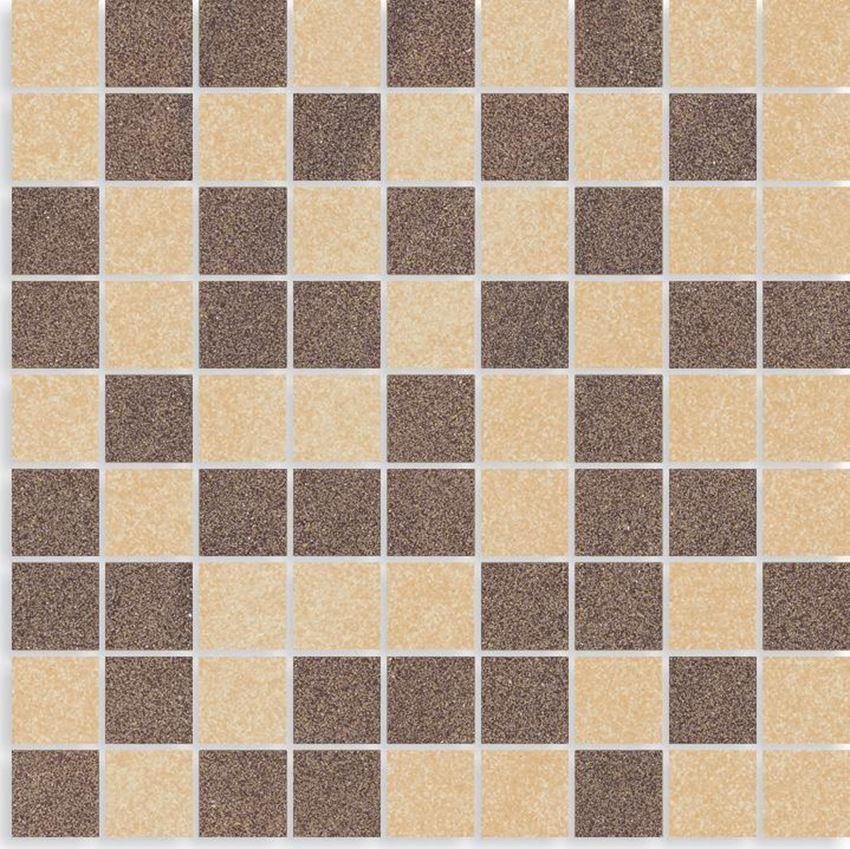 Mozaika cięta 29,8x29,8 cm Paradyż Arkesia Brown/mocca Mozaika Cięta Mix Poler