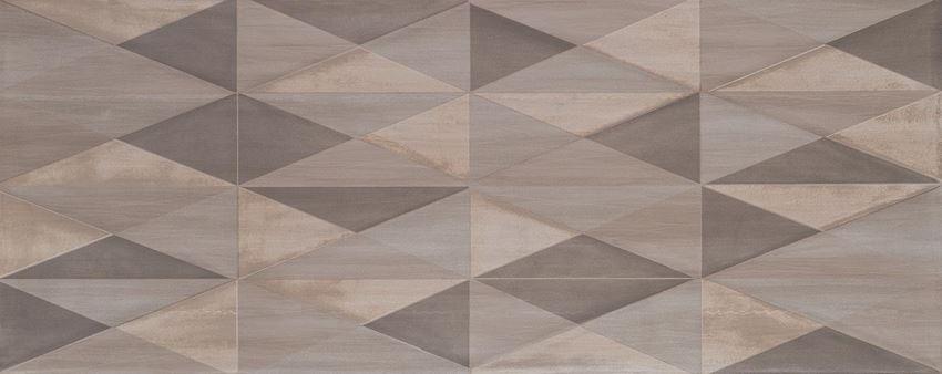 Dekor ścienny 29,8x74,8 cm Tubądzin Nursa grey