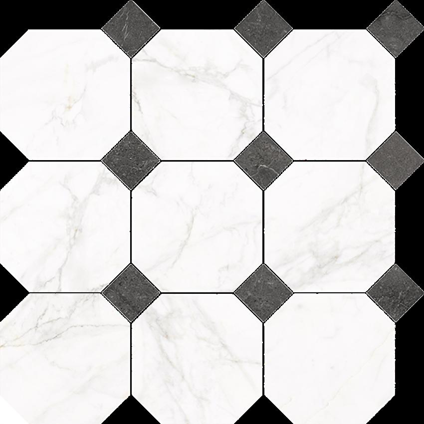 Mozaika 33x33 cm Nowa Gala Frost White