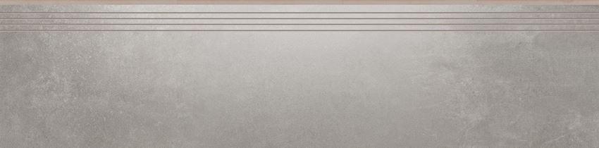 Płytka stopnicowa 29,7x119,7 cm Cerrad Tassero gris lappato