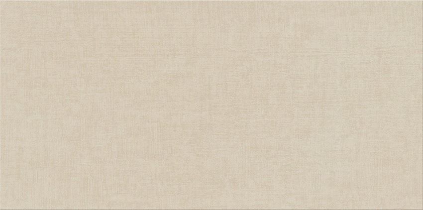 Płytka ścienna 29,8x59,8 cm Cersanit Shiny Textile Ps810 beige satin