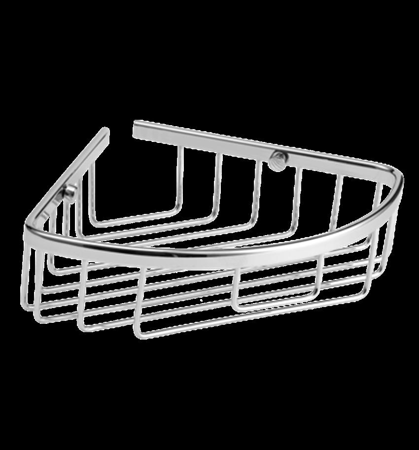 Koszyk prysznicowy narożny 28x6,8 cm Omnires Uni