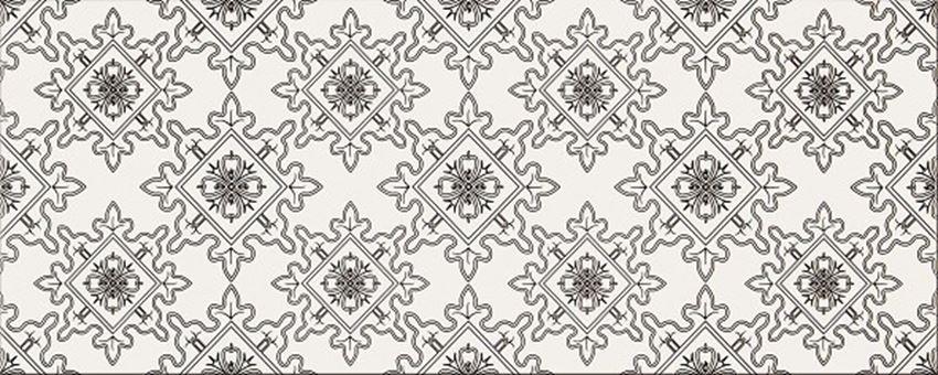 Płytka dekoracyjna 20x50 cm Opoczno Black&White Pattern E