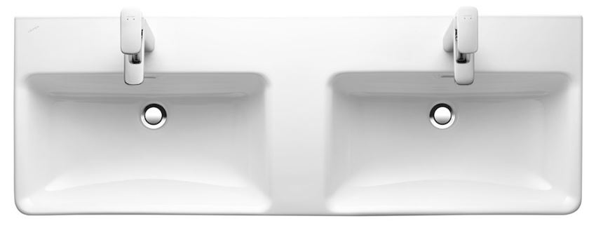 Umywalka podwójna 120 cm Laufen Pro S