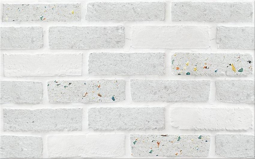 Płytka dekoracyjna 25x40 cm Cersanit Vetra grey inserto brick