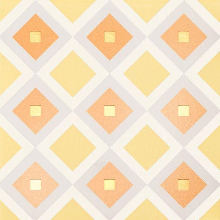 Dekor ścienny 22,3x22,3 cm Tubądzin Patch White